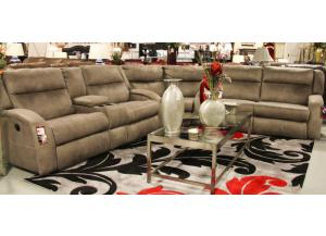 MAVERICK RECLINING SECTIONAL,SOUTHERN MOTION