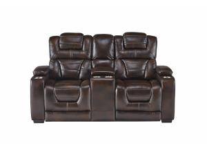 MANHATTAN RECLINING LOVESEAT (PWR TGL)